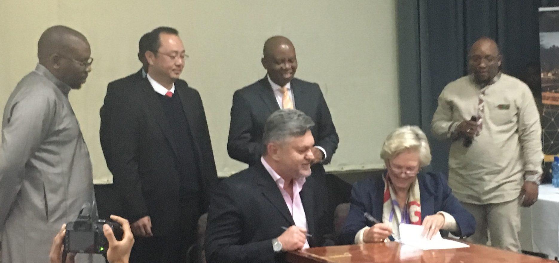JICP signs MOU's with COJ