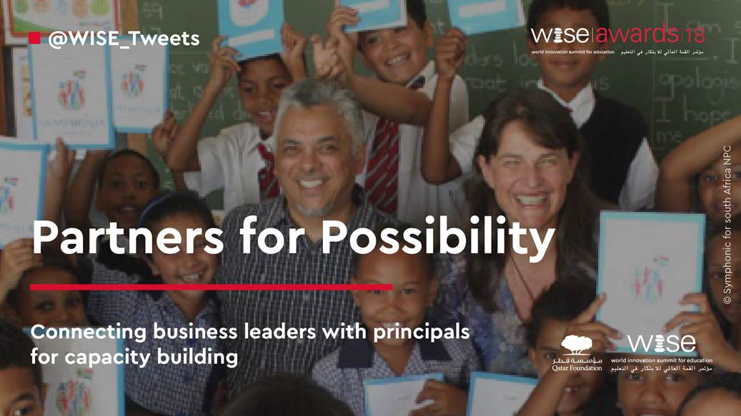 Partners For Possibility receive an 'Oscar' for Education