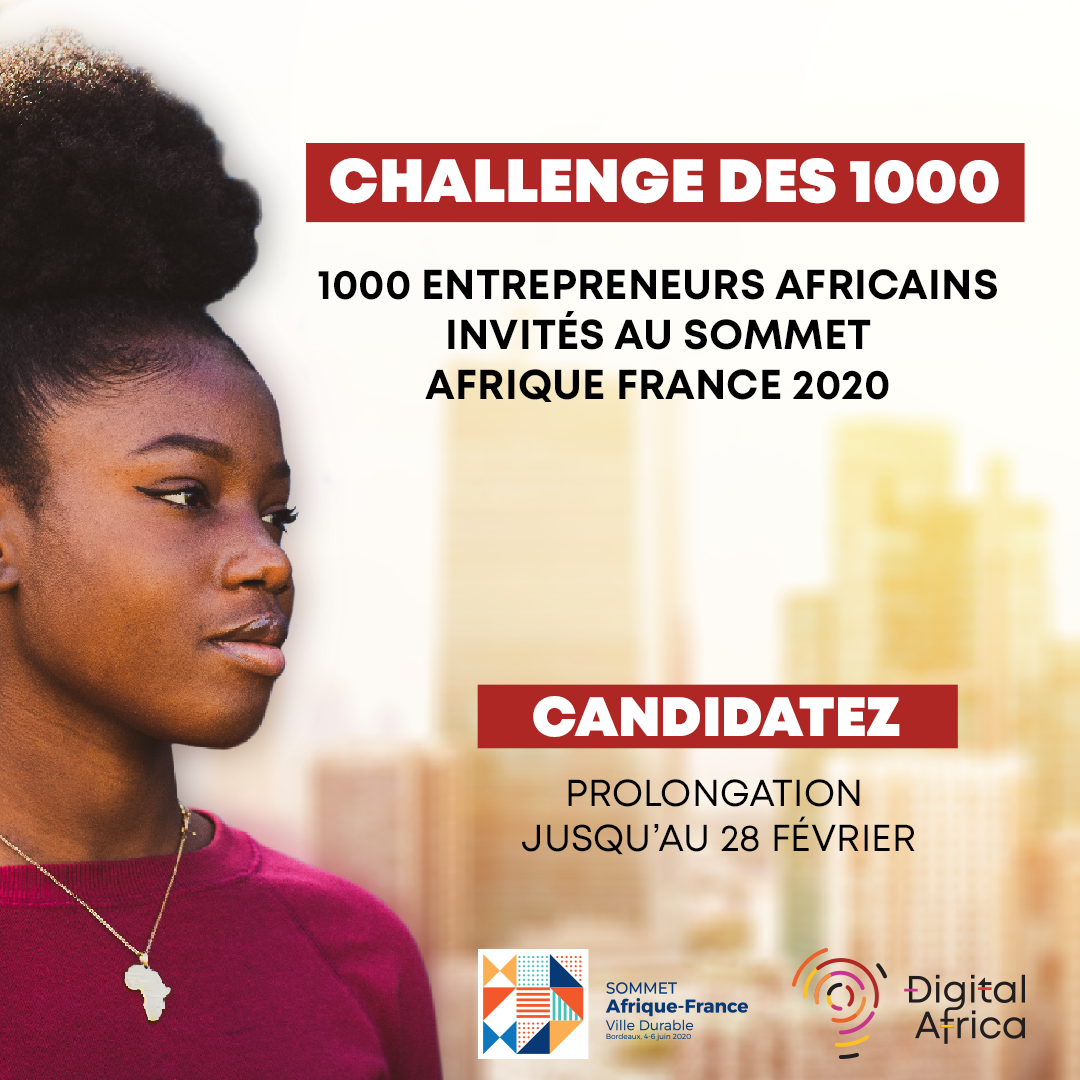2020 Africa-France Summit; the Challenge of 1000