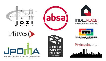 Contributors - Jozi Housing, Anglo America, Johannesburg Land,